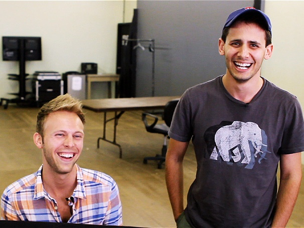 Behind the Music: Dogfight Composers Benj Pasek & Justin Paul 