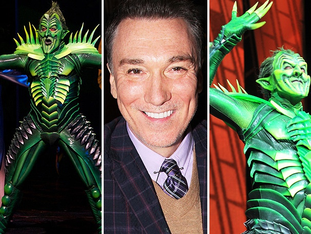 Exclusive! Patrick Page Looks Back on The Best Ever Run as Green Goblin in Spider-Man, Turn Off the Dark