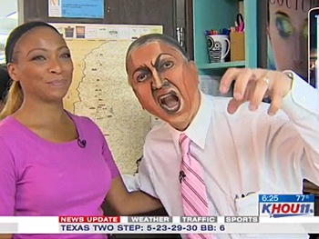 Watch The Lion King's Makeup Artist Transform Houston News Anchor Ron Trevino Into Scar