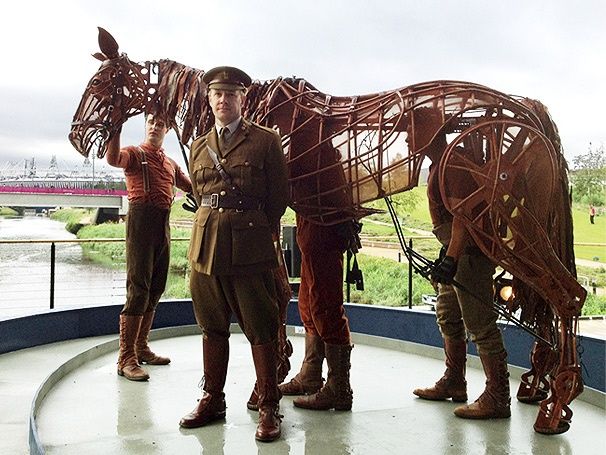 The National Theatre's War Horse Finishes First at London's Olympic Park