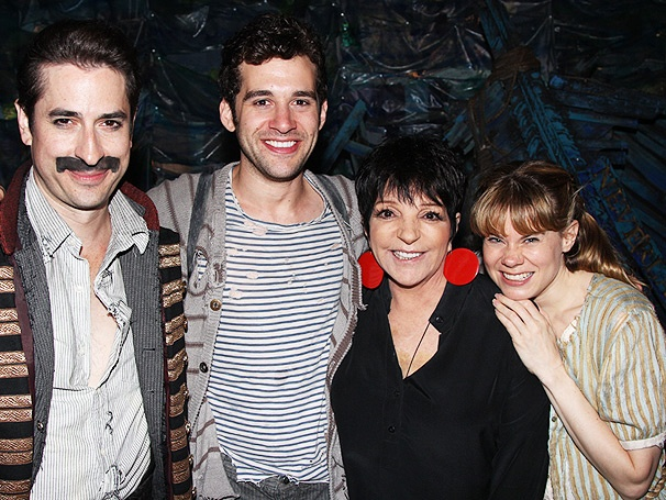 Liza Minnelli, Camryn Manheim & More Set Sail for Star Stuff at Peter and the Starcatcher 