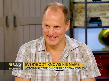 Woody Harrelson Talks Bullet for Adolf and Prepping for the Next Hunger Games on CBS This Morning