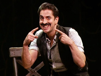 Ahoy, Black Stache! See Matthew Saldivar Get Hooked in Broadway's Peter and the Starcatcher