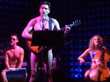 Watch Will Swenson & Wes Taylor Get (Mostly) Naked to Sing Lil Jon & 'Call Me Maybe' with The Skivvies