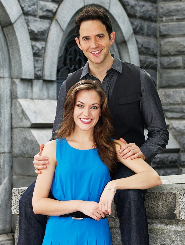 Laura Osnes and Santino Fontana Ready for a Magical Broadway Ball in Cinderella
