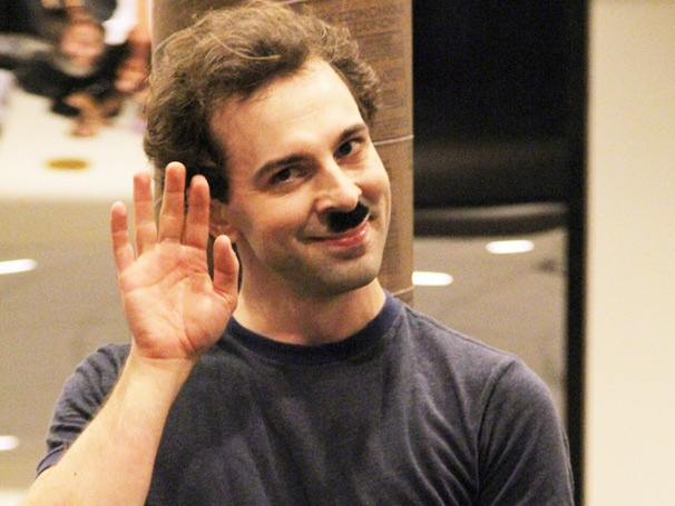 The Tramp Has Arrived! See Rob McClure & the Cast of Broadway's Chaplin in Rehearsal