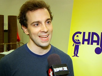 Just Another Day in Hollywood! Watch Rob McClure & the Cast of Chaplin in Rehearsal