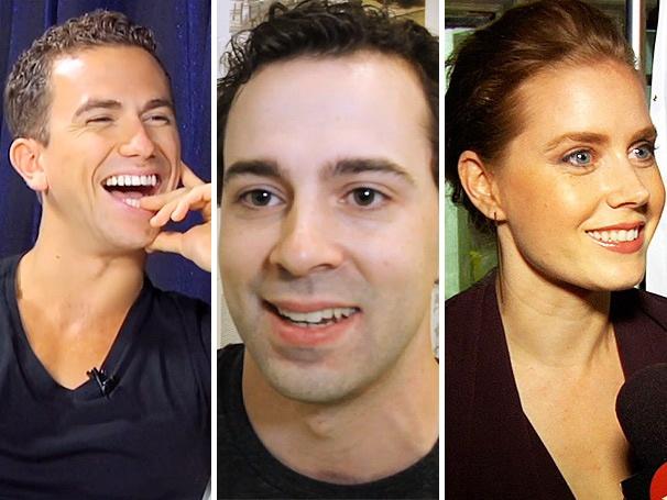 Top Five! Saucy Talk With Richard Fleeshman, Chaplin, Amy Adams & More Lead the Week's Most-Watched Videos
