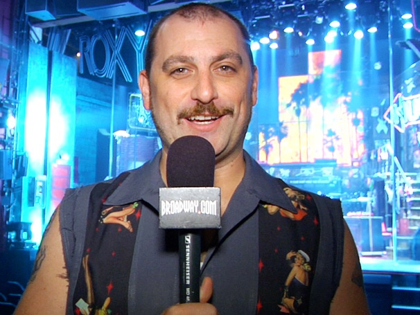 Broadway Buzz: Genson Blimline Hosts a Wacky Backstage Tour of Broadway's Rock of Ages