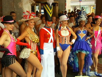 Santa, Rockettes and Reindeer! Check Out a Summer Preview of the Radio City Christmas Spectacular