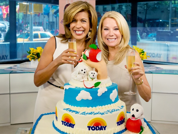 Scandalous Scribe Kathie Lee Gifford Celebrates Her Birthday in Style on The Today Show