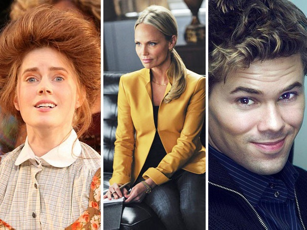 Top 10! Kristin Chenoweth's Recovery, Strip-tastic Andrew Rannells & Amy Adams' Wig Draw Fans to the Week's Most-Read Articles