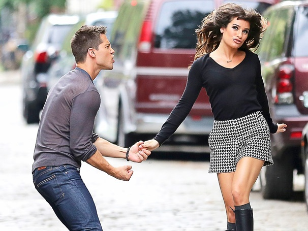 Glee Gone Wild! New Cast Member Dean Geyer Promises a 'Racy' Season for Lea Michele