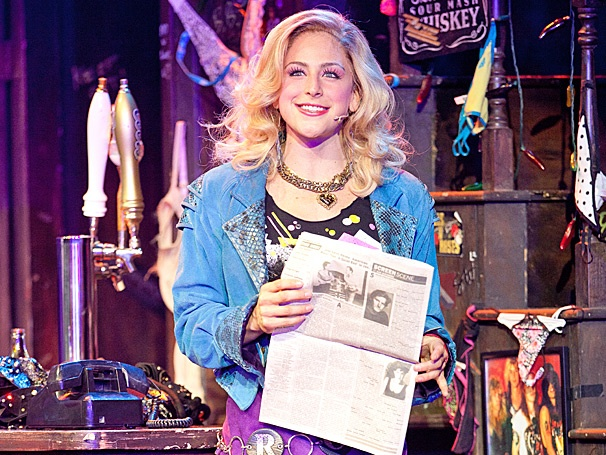 Shannon Mullen On Switching from 'Innocent to Sexy' in Rock of Ages on Tour