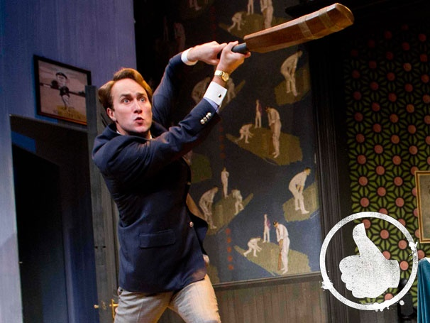 Thumbs Up! Don't Miss the Delightful Debauchery of Oliver Chris in One Man, Two Guvnors