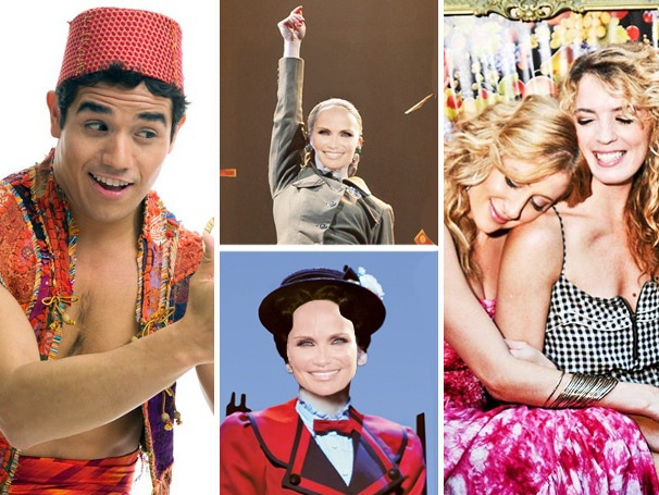 Top 10! Aladdin on Broadway, Fantasy Chenoweth Casting and 'Besties' Caissie & Kacie Lead the Week's Most-Read Stories