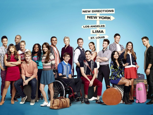 Lea Michele, Darren Criss and the Glee Gang Ready to Head in New Directions in Season Four Cast Pic