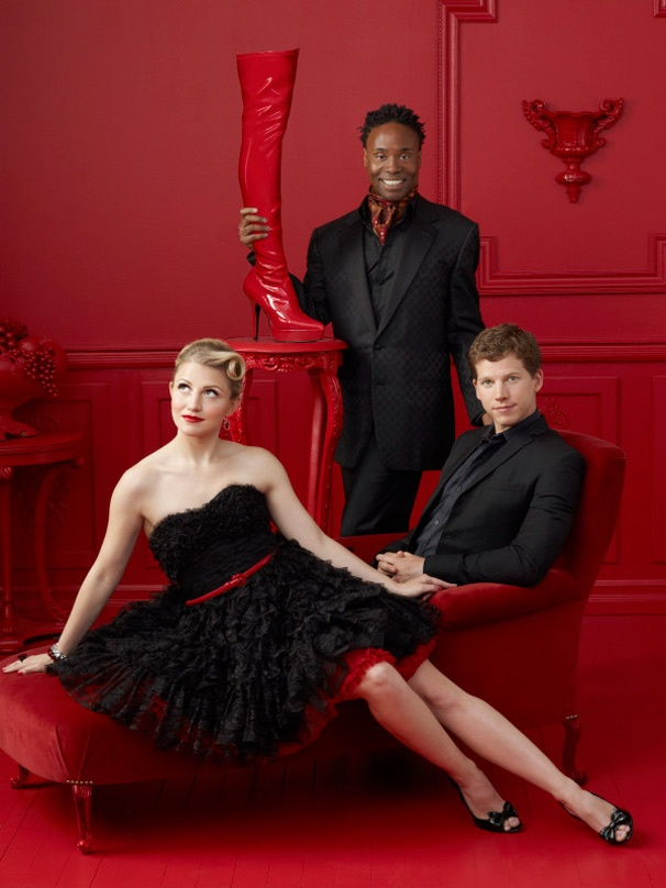 Check Out a Stylish Shot of Kinky Boots Stars Annaleigh Ashford, Billy Porter and Stark Sands