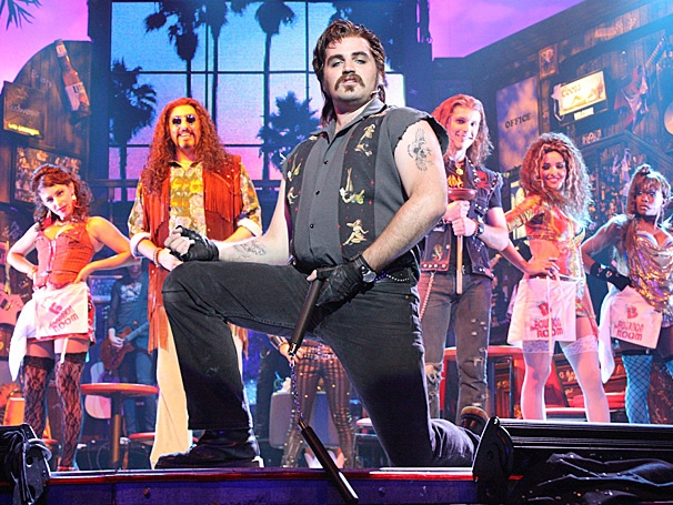 Justin Colombo on the Thrill of 'Dangling His Nunchucks' in Rock of Ages on Tour