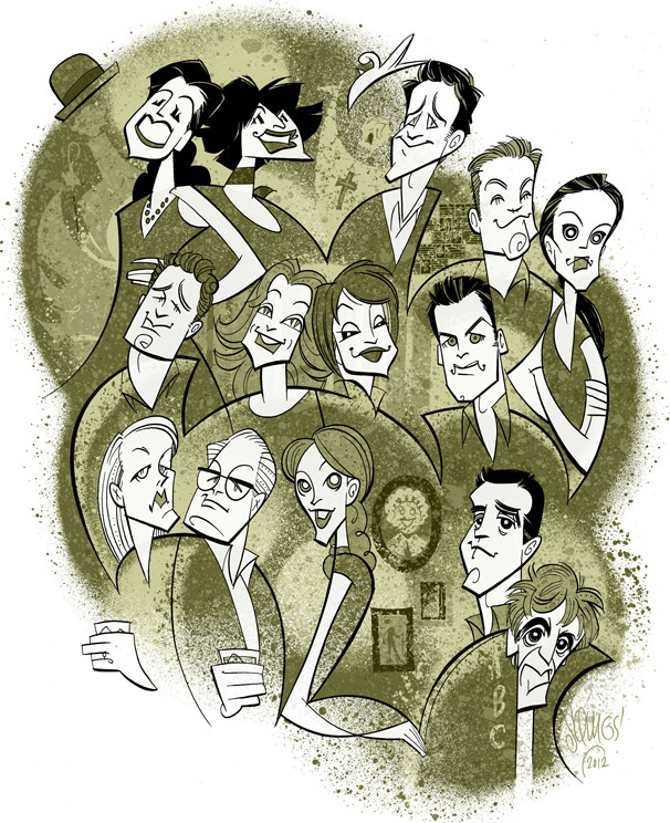 Squigs Sees Stars in Fall Preview Portrait of Chita Rivera, Al Pacino, Katie Holmes & More