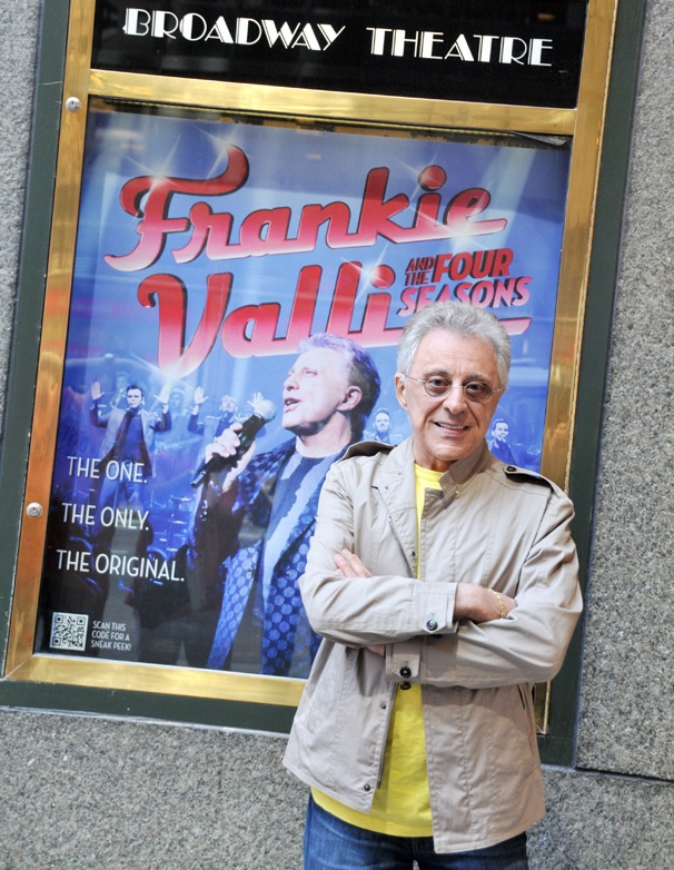 Frankie Valli, Live on Broadway! The Pop Superstar Launches His 50th Anniversary Concerts