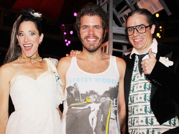 Perez Hilton and the Cast of Kinky Boots Take In the Raunchy Off-Broadway Circus Empire