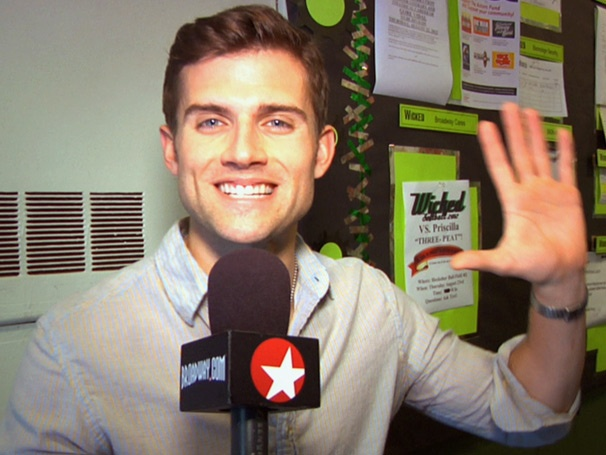 Murals, Makeup and Magic! Kyle Dean Massey Brings Fans Backstage at Wicked