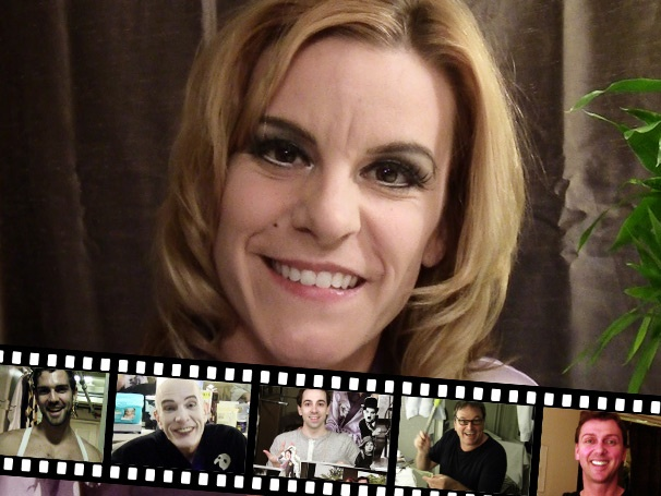 Hedda's Headlines: Backstage at Chaplin with Jenn Colella, Episode 2: Meet the Fellas!