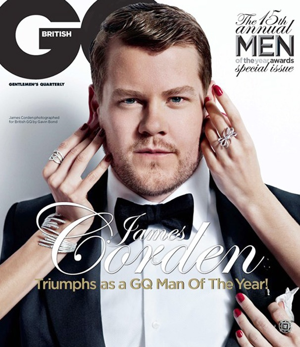 Tony Winner James Corden Named British GQ's Man of the Year