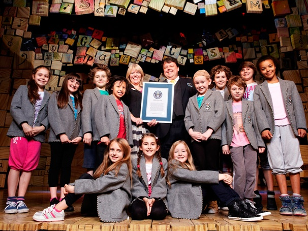 Broadway-Bound Matilda Nabs Spot in Guinness Book of World Records