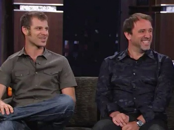 Watch Trey Parker and Matt Stone Invite Mitt Romney to The Book of Mormon