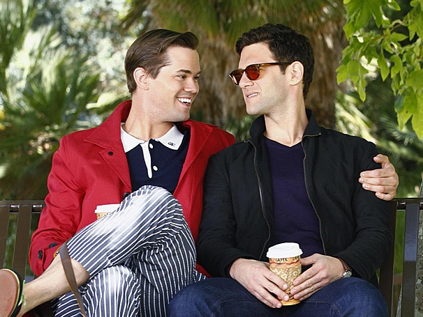 The New Normal's Andrew Rannells on His Controversial New Show and Shacking Up With Girls' Lena Dunham