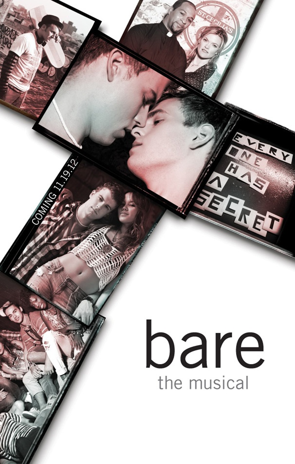 Catch a Glimpse of Taylor Trensch & Jason Hite in the Steamy New Poster For Off-Broadways Bare
