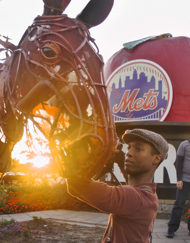 Take Me Out to the Ball Game! War Horse Visits the New York Mets