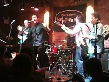 Too Good to Be True! Watch Nick Jonas and John Stamos' Surprise Jersey Boys Performance