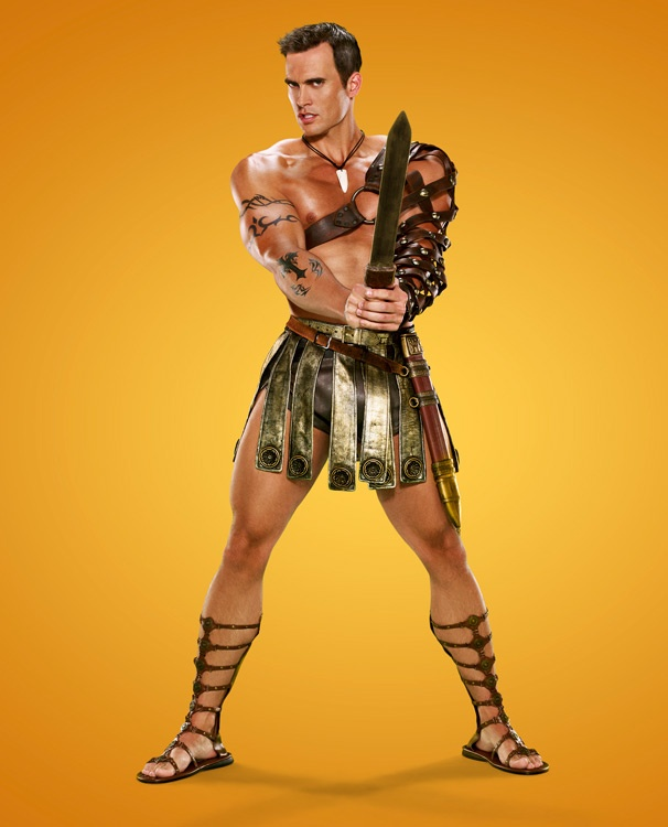 Cheyenne Jackson Is a Sexy Gladiator! Check Out Eye