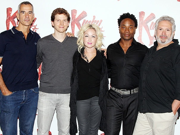 Heels & Heart! Kinky Boots, Starring Stark Sands and Billy Porter, Kicks Off with a Press Event