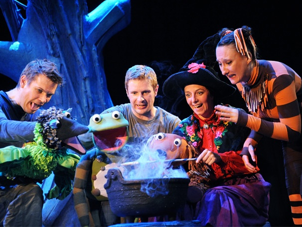Family Musical Room on the Broom to Fly into the West End for Holiday Run
