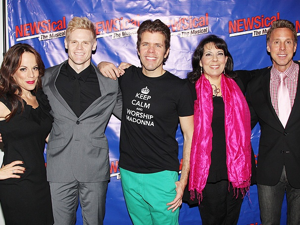 Broadway Faves, Soap Divas and Reality Stars Come Out for Perez Hilton in NEWSical the Musical