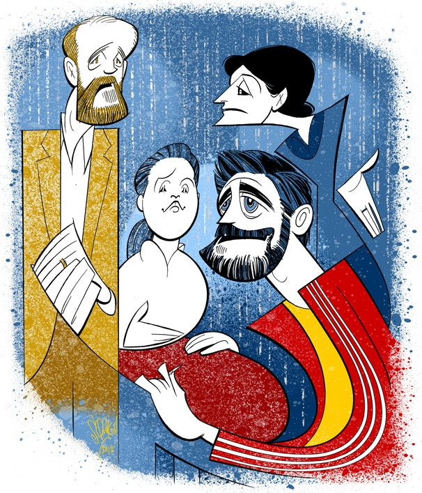 Squigs Pens a Portrait of If There Is Star Jake Gyllenhaal & His Dysfunctional Onstage Family