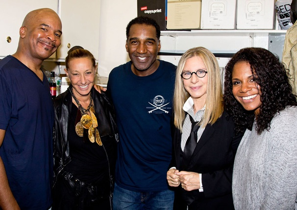 Hello Gorgeous! Exclusive Photo of Barbra Streisand's Backstage Visit at Porgy and Bess