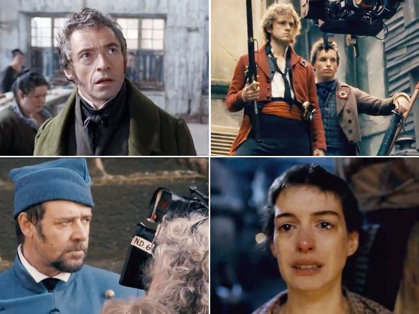 Watch an Extraordinary First Look at the Les Miserables Movie, Starring Hugh Jackman and Russell Crowe