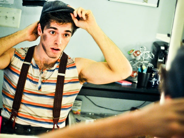 Photo Exclusive! Birthday Parties, Costume Changes & More Backstage Fun at Newsies