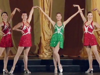 Watch Heidi Klum and the Rockettes Kick Their Way to Project Runway!