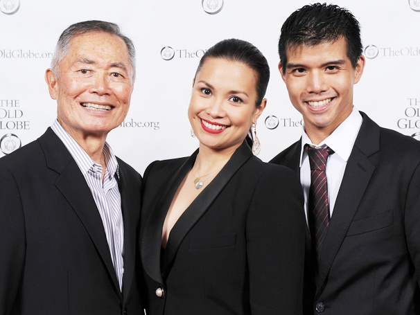 Lea Salonga, George Takei and Telly Leung Shine at Allegiance's Opening Night