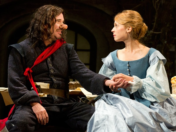 What a Nose! Get Your First Look at Douglas Hodge and Clemence Poesy in Cyrano de Bergerac
