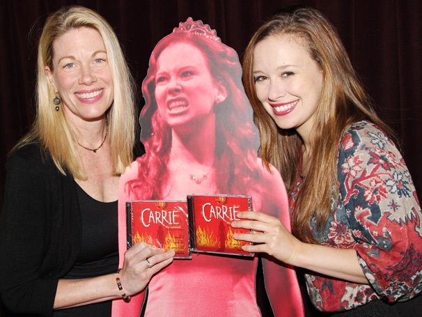 A Bloody Good Time! Marin Mazzie, Molly Ranson and More Celebrate the Carrie Cast Recording