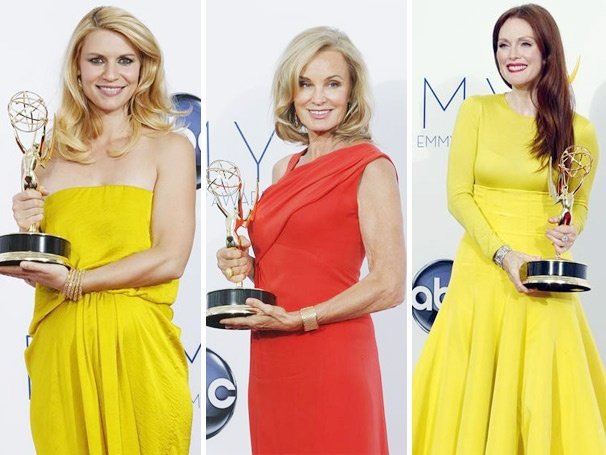 Claire Danes, Jessica Lange, Julianne Moore and More Win Primetime Emmy Awards