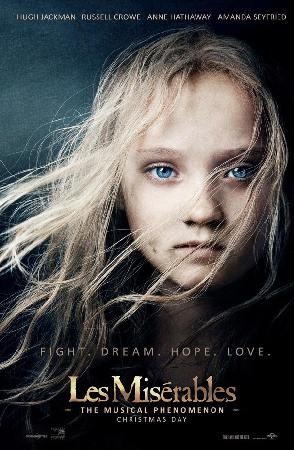 Cosette Comes to Life! Check Out the New Les Miserables Movie Poster