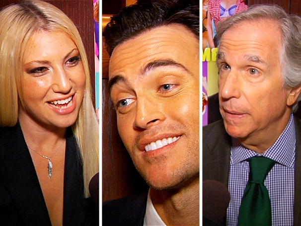 Does Size Really Matter? See The Performers' Cheyenne Jackson, Henry Winkler & More Respond